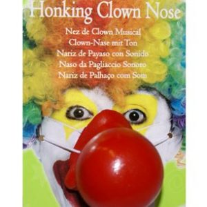 Clown nose with noise