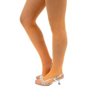 31efc0b24d948 Neon Fishnet stockings – orange – Code: 2104 – Scalliwags Costume Hire