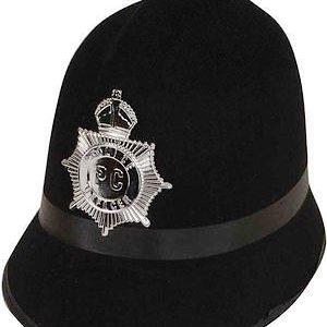 Policemans helmet