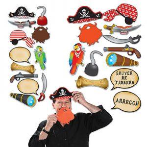 Pirate photo props