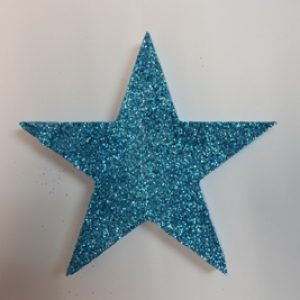 Blue star decor