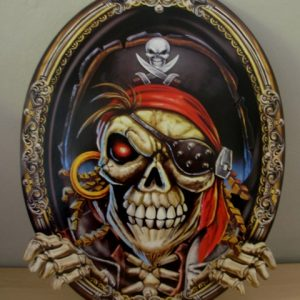 Pirate themed party decor