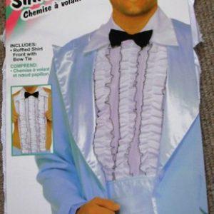 Ruffled shirt front