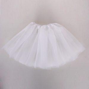 white tutu skirt child