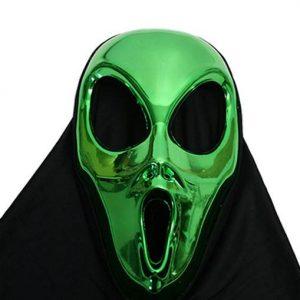 Alien mask with hood