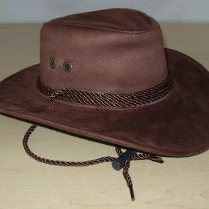 Child cowboy hat brown
