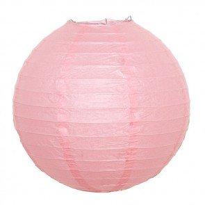 Pink paper lantern 20cm