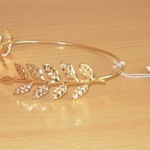 Gold leaf armband