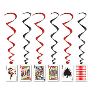 Playing card whirls