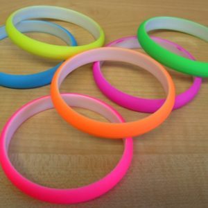 Neon coloured bangles