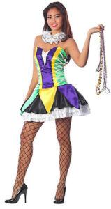 Bourban Street Babe - Mardi Gras Carnival