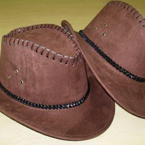 Brown cowboy hat child