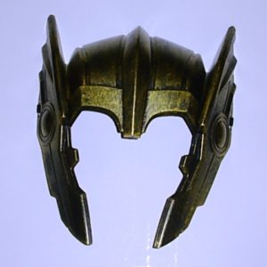 Superhero headpiece - gold