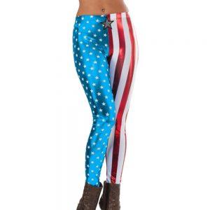 Captain america ladies leggings