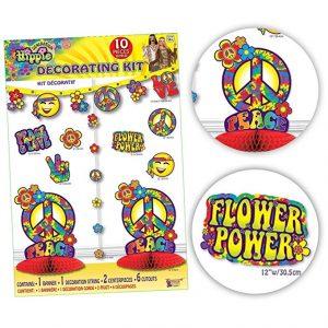 Hippie decorating kit