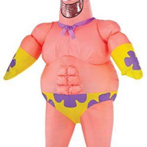 Patrick inflatable costume