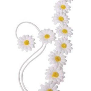 Flower hippie headband