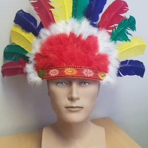 Red Indian headdress