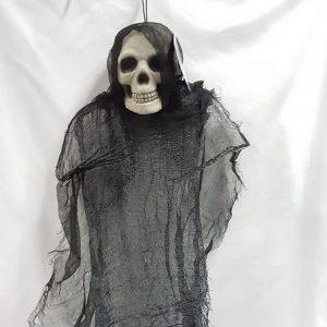 Hanging skeleton prop