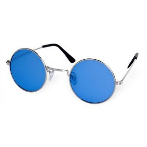 Blue hippie glasses