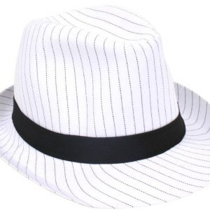 mafia hat white
