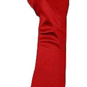Ladies red gloves