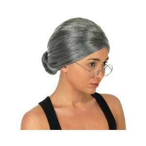 Old ladies wig