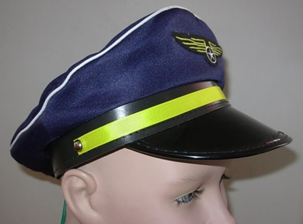 Pilot captain's hat