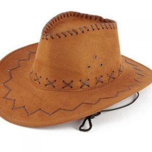 Cowboy hat suede caramel