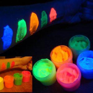 Body glow paint