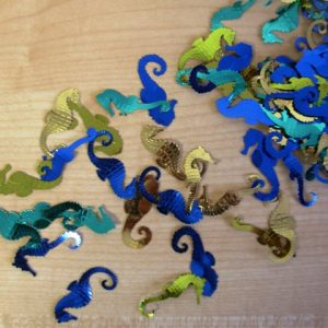 Seahorse table decor