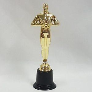 Gold award statue