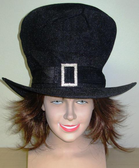 Velvet top hat