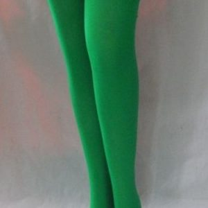 Thigh high stockings green