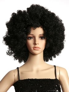Afro hippie wig