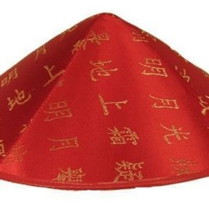 Red chinese hat