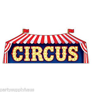 Circus / Clowns Decor