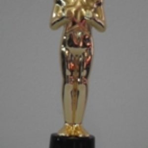 Oscar style award statue