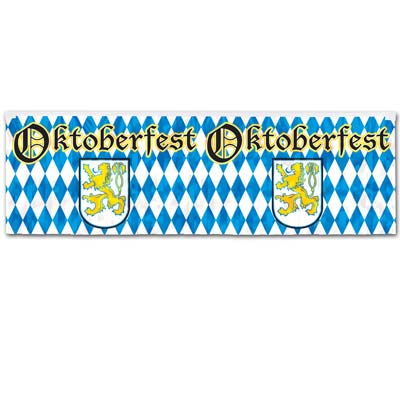 German beerfest banner