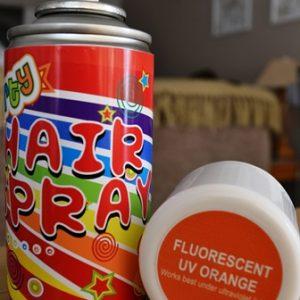 UV hairspray