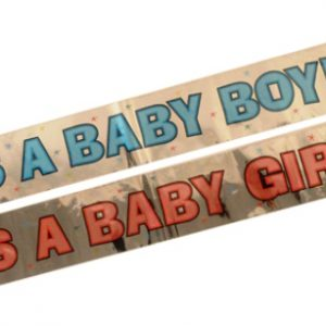 Baby announcement banners