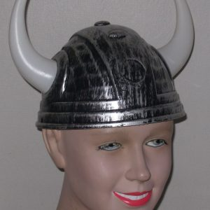 Viking helmet with white horns