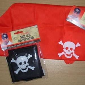 Pirate scarves