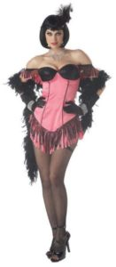 Ladies show girl costume