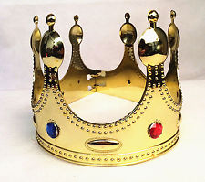 Childs plastic crown