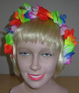 Hawaiian headdress
