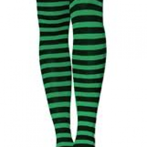 Stripe thigh highs