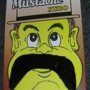 Droopy moustache
