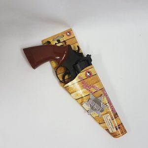 Cowboy gun & badge
