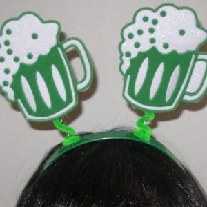 Beer mug headboppers